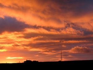 Cat and Fiddle Sunset