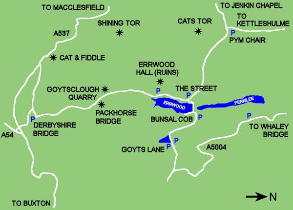 Goyt Valley Map