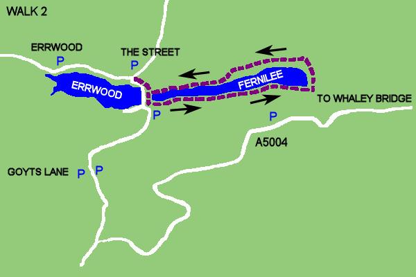 Walk 2 - Fernilee Reservoir