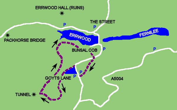 Walk 1: Errwood Reservoir from Goyts Lane